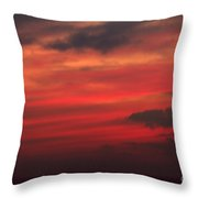 Great White Cloud 2 Throw Pillow
