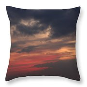 Great White Cloud Throw Pillow