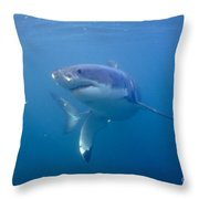 Greatest White Throw Pillow
