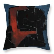 Greating Throw Pillow