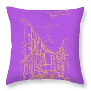 Grebeshkovsky Slope 7. 19 August, 2015 Throw Pillow