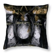 Grebo 01 Throw Pillow