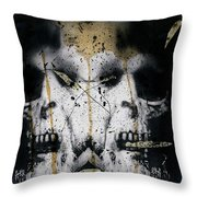 Grebo 02 Throw Pillow