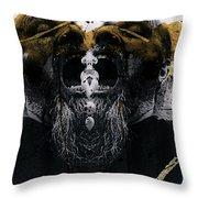 Grebo 05 Throw Pillow