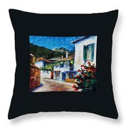 Greece  New Throw Pillow