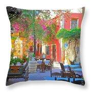 Greek Culture - 4162 Throw Pillow