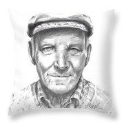 Greek Fisherman Throw Pillow