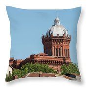 Greek Orthodox College Dome Throw Pillow