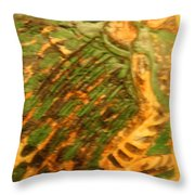 Green - Tile Throw Pillow