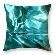 Green 114 Throw Pillow