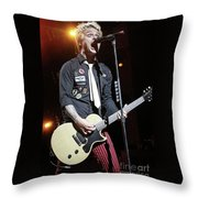 Green Day Billie Joe Armstrong Throw Pillow