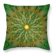 Green No2 Throw Pillow