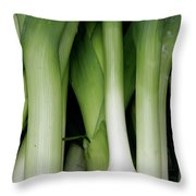 Green Onion Market Bergen Throw Pillow
