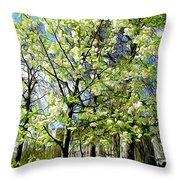 Green Park, London Throw Pillow