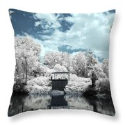 Green River Ir Throw Pillow