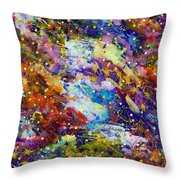 Green Space 15-18 Throw Pillow