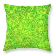 Green Spirits Throw Pillow