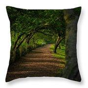 Green Summer  Throw Pillow
