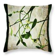 Green Tales  Throw Pillow