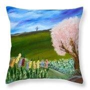 Greener Pastures Throw Pillow