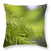 Greenery 1318 Throw Pillow
