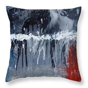 Greenhouse Effect On The Arctic Circle Throw Pillow