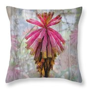 Greenhouse On A Rainy Day Throw Pillow