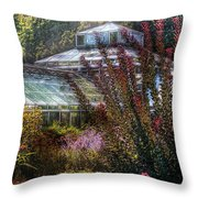 Greenhouse - The Greenhouse Throw Pillow
