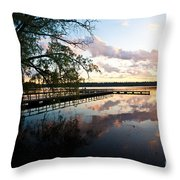 Greenlake Tranquility Throw Pillow