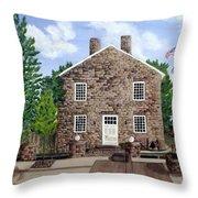 Greensburg Kentucky Courthouse Throw Pillow
