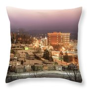 Greensburg Pano Throw Pillow
