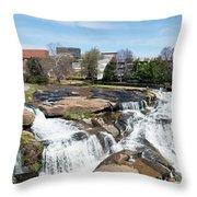 Greenville Panorama Throw Pillow