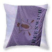 Greenwich Flag Throw Pillow