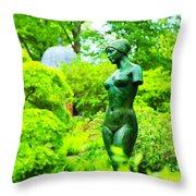 Greenwich Garden Throw Pillow