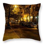 Greenwich Village Throw Pillow
