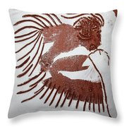 Greeting 6 - Tile Throw Pillow