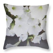 Greeting Card/sympathy Card Throw Pillow