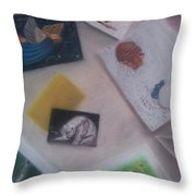 Greeting Cards Throw Pillow