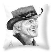 Greg Norman Throw Pillow