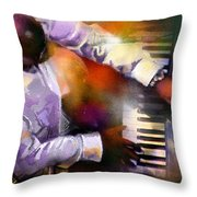 Greg Phillinganes From Toto Throw Pillow