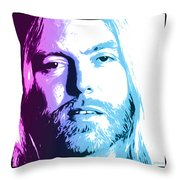 Gregg Allman 1947 2017 Throw Pillow