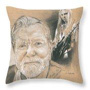 Gregg Allman Throw Pillow