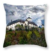 Greifenstein Castle Throw Pillow