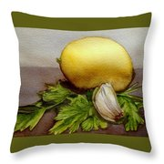 Gremolata Throw Pillow