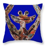 Gren Zen Throw Pillow