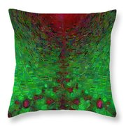 Grenadine Throw Pillow