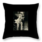 Greta Nissen Throw Pillow