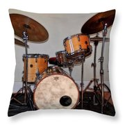 Gretsch Round Badge Throw Pillow