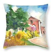 Greve In Chianti In Italy 01 Throw Pillow