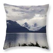 Grewingk Glacier Throw Pillow